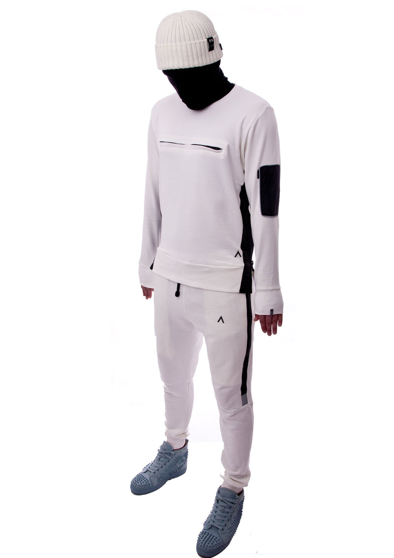 DECEIVE 3M TRACKSUIT (OFF WHITE)