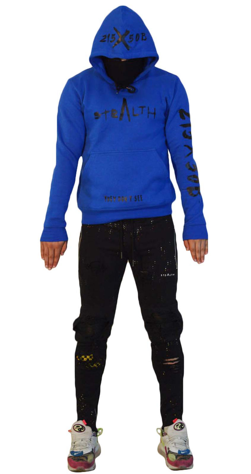 215X50B Hoody (Stealth Blue)