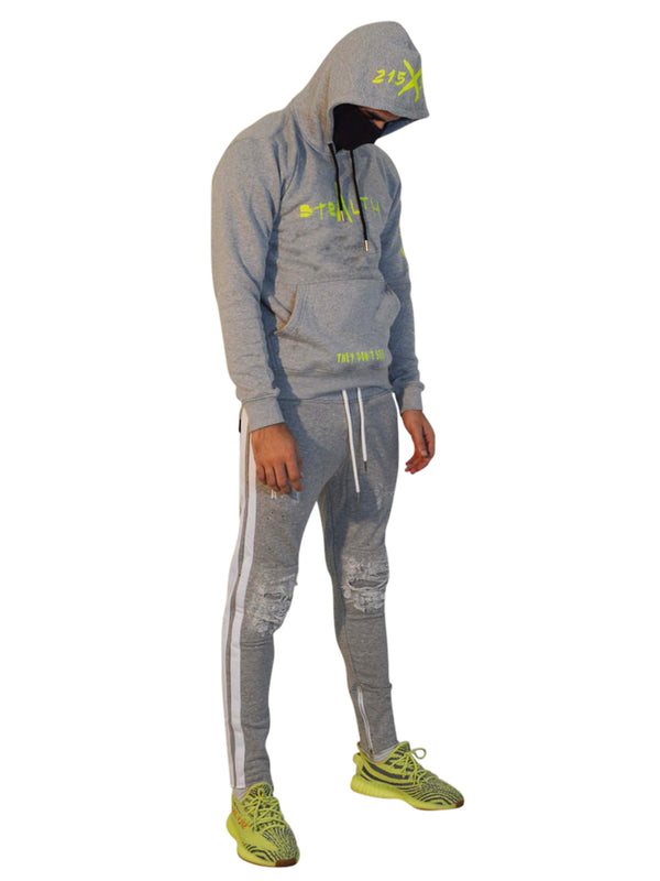 215X50B Hoody (Grey/Lime)
