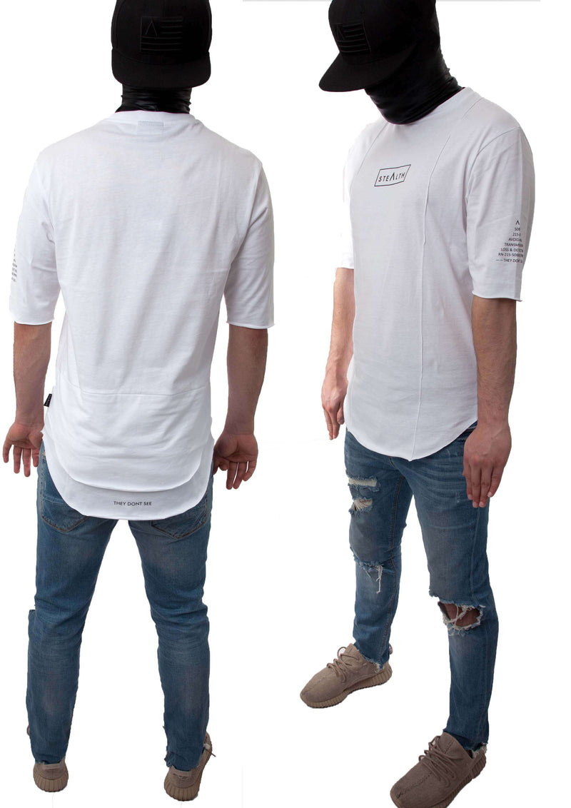 Layer Tee Shirt (White)