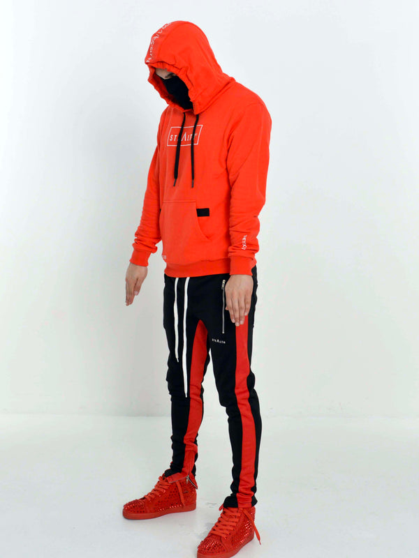 Facemask Hoody (Red)