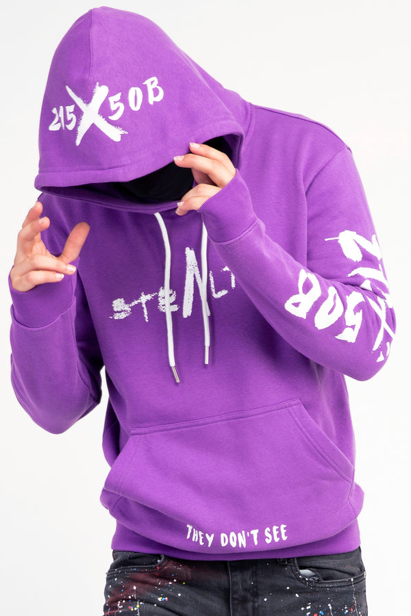 215X50B Hoody (Purple/White)