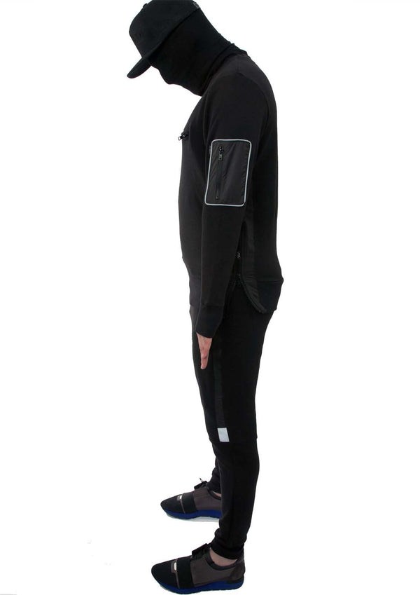 Deceive 3m Tracksuit (Stealth Black)