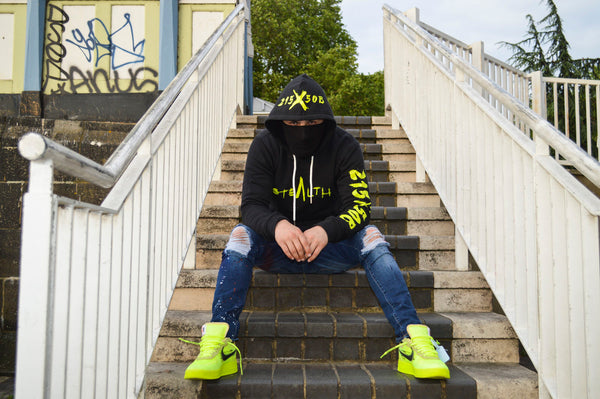 215X50B Hoody (Black Lime)
