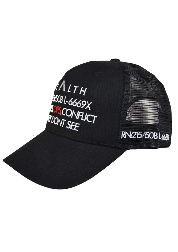 Frequencies Trucker Snapback Cap