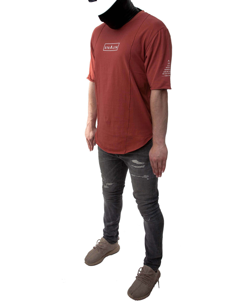 Layer tee Shirt ( Clay)