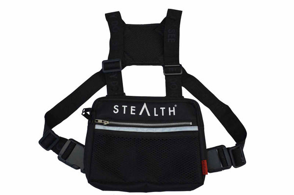 Military Chest Bag (Black)