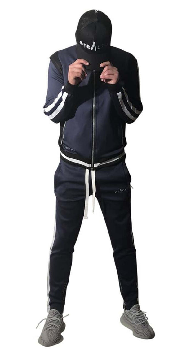 A2315 Tracksuit (Navy Black)
