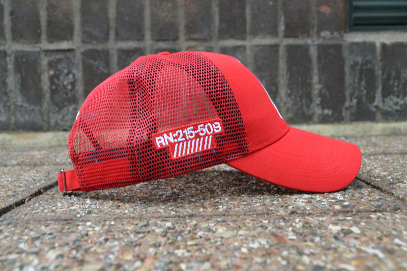 Stealth Logo Trucker Cap (Red)