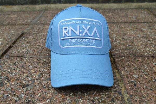 RN:X Trucker Cap (Sky Blue/White)