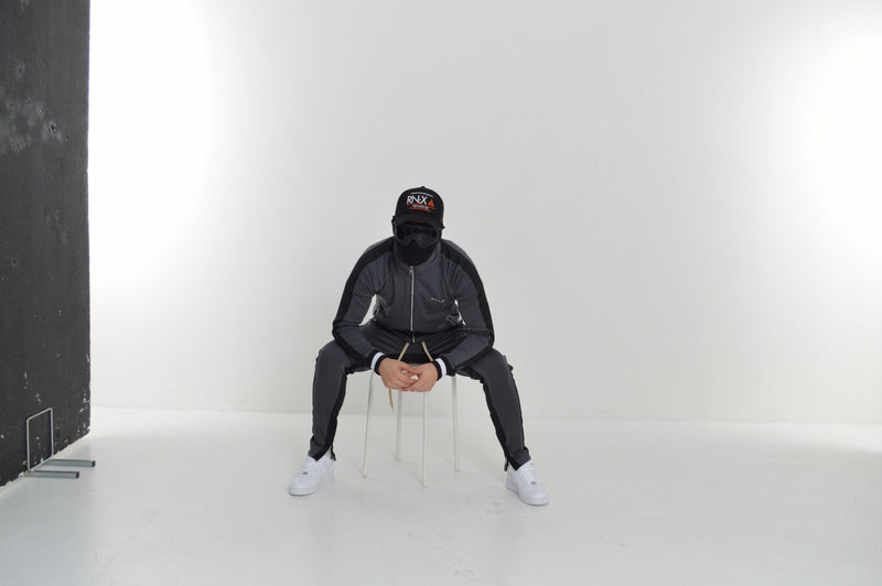 Vectran Tracksuit (Charcoal/Black)
