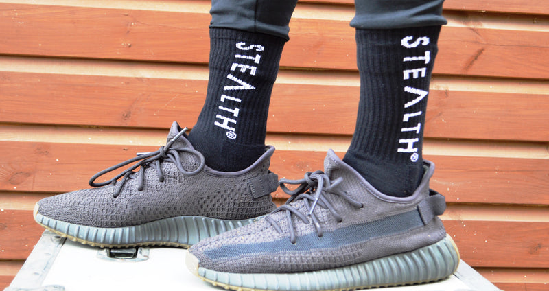 Stealth Logo Socks (Black)