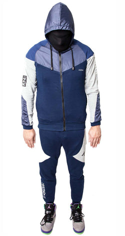 Defect Tracksuit 3m reflective (Navy Grey)