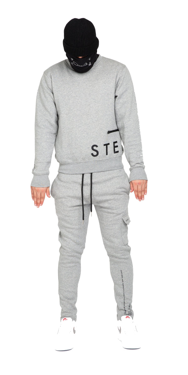 No Side Man Tracksuit (Grey)