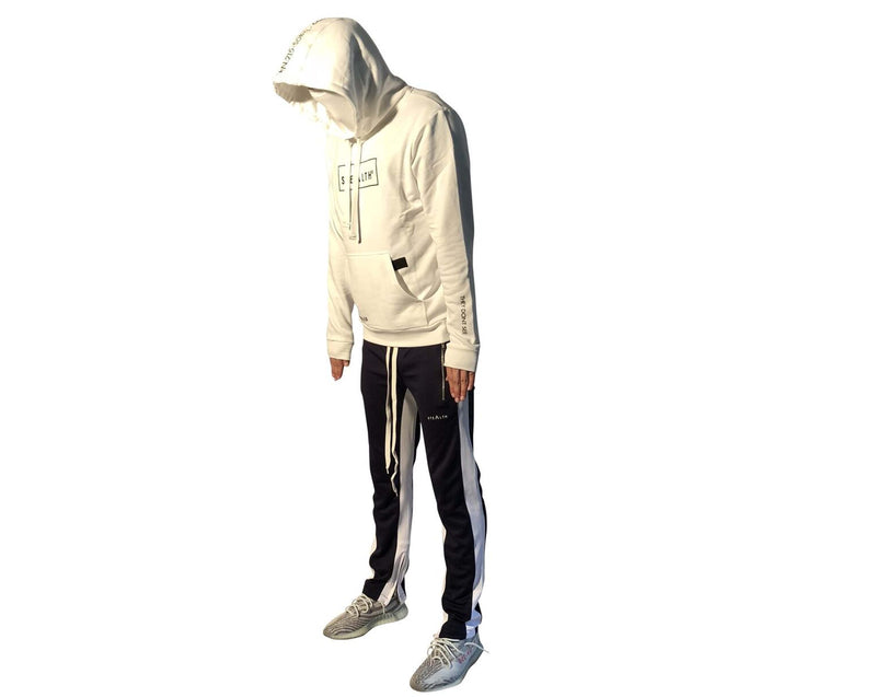 Facemask Hoody (White)