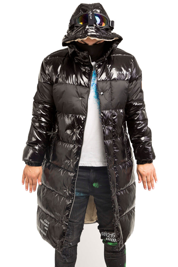 Dark Shadow Puffa Goggle Jacket
