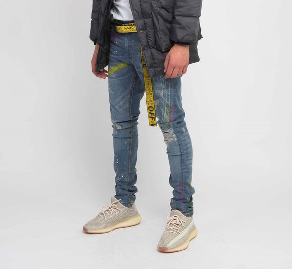 RN 215 coded Denim (Blue)