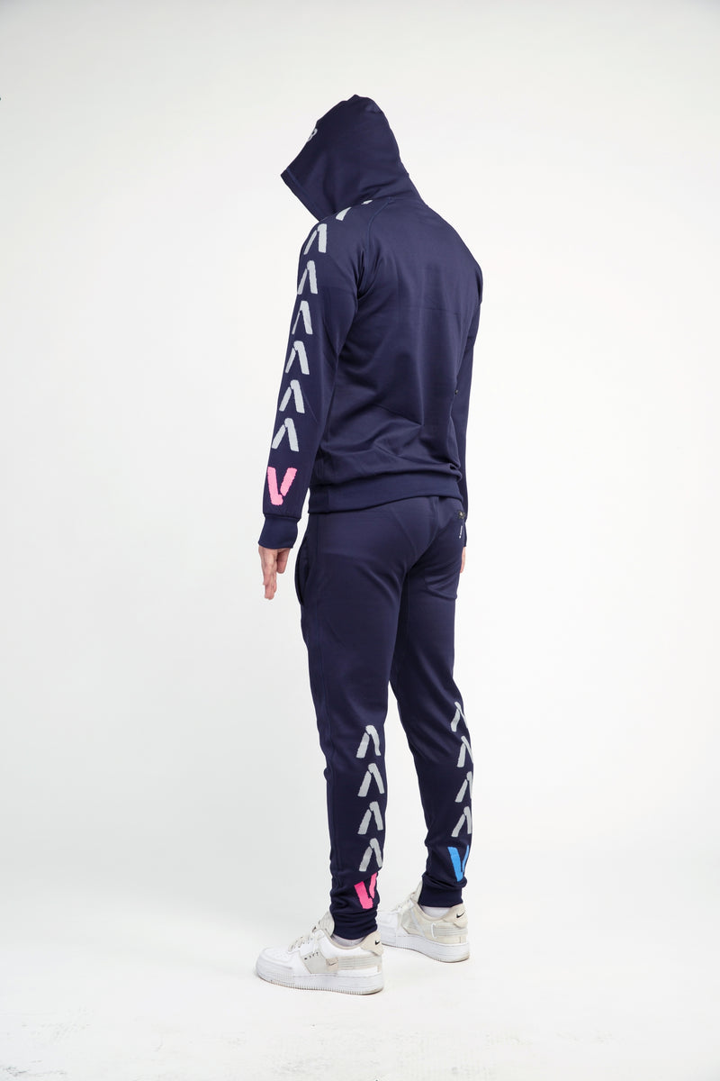 Finding Ops facemask Tracksuit (Dark Navy/Black)