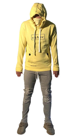 Facemask Hoody (Stealth Yellow)