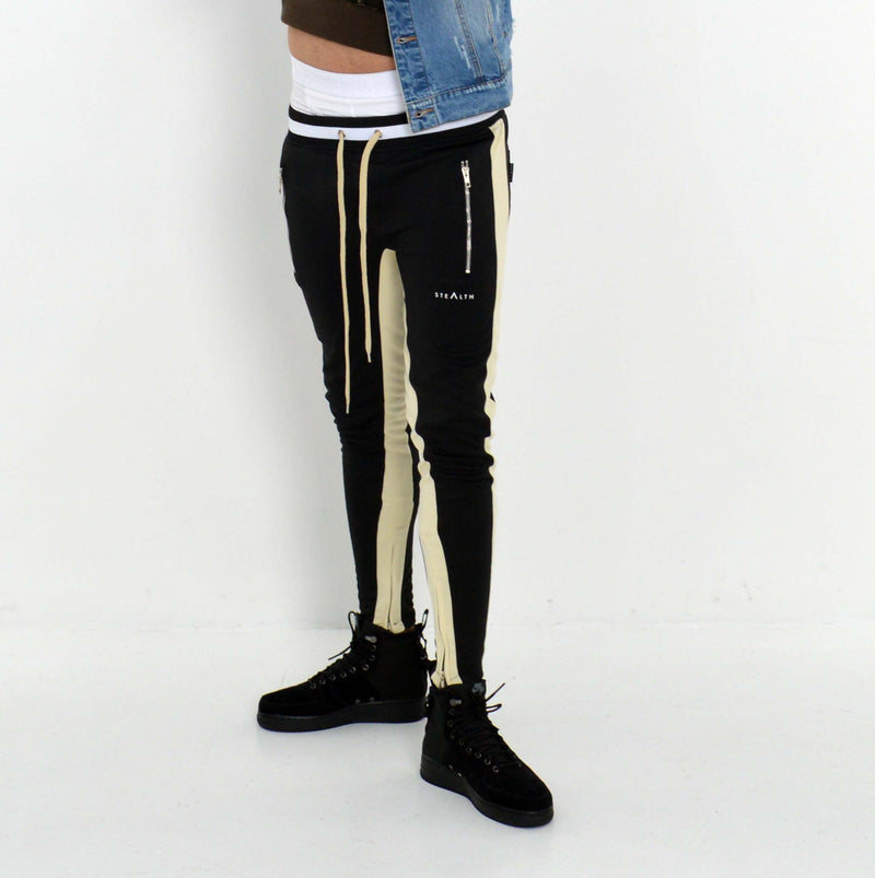 Vulcan Track Bottoms (Black/Cream)