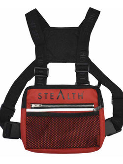 Military Chest Bag (Red)