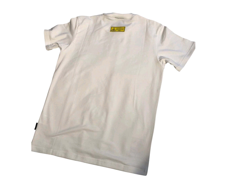 Caution ! Tee Shirt (White)