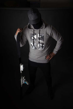 Cross Section Overhead Camo hoody (Grey)