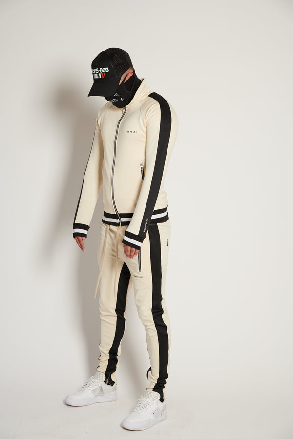 Vulcan Tracksuit (Cream/Black)