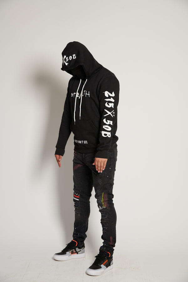 215X50B Hoody (Black White)