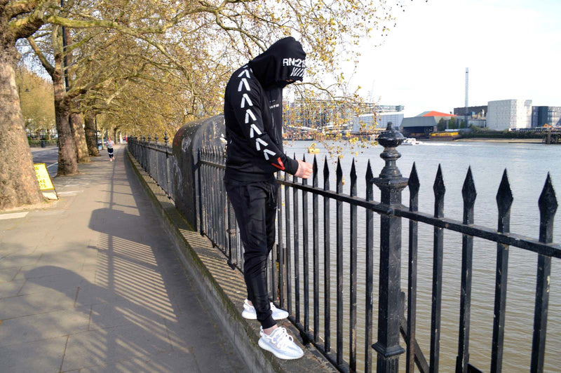 Finding Ops Tracksuit (Black/Off White)