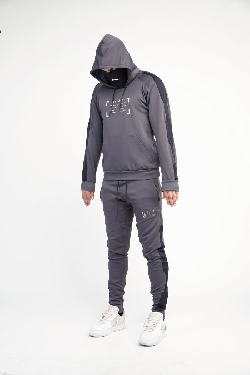Damage Control Facemask Tracksuit (Charcoal Grey)