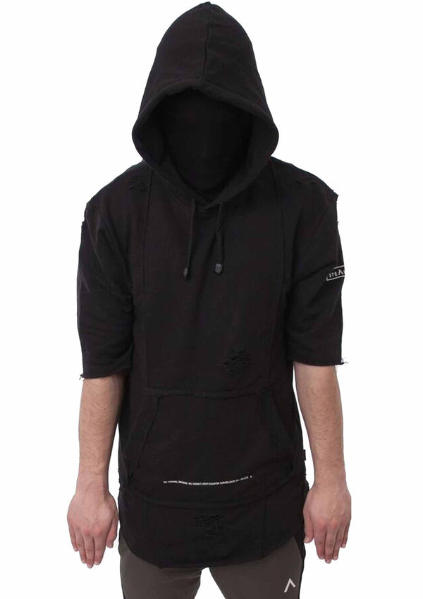 Stealth London Clothing Co Medium (SlimFit) Superior Move Distressed Hoody