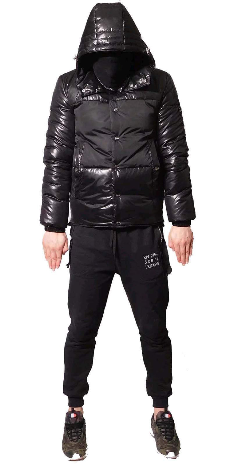 Stealth London Clothing Co Small  (Relaxed Fit) Surge Puffa Jacket