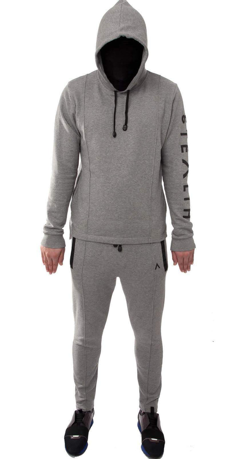 Stealth London Clothing Co Small (SlimFit) Intruder Tracksuit (Grey)