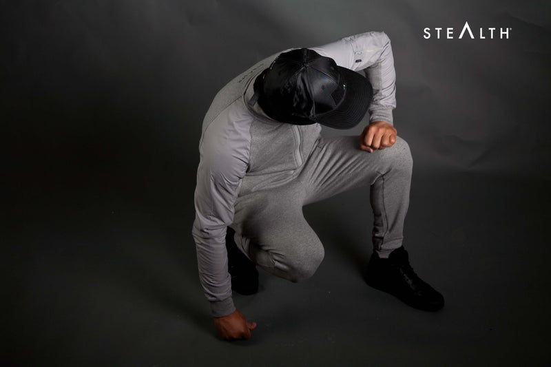 Stealth London Clothing Co Small The Classic Zip Tracksuit (Stealth Grey)
