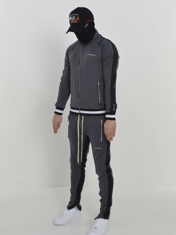 Stealth London Clothing Co Small Vectran Tracksuit (Charcoal/Black)