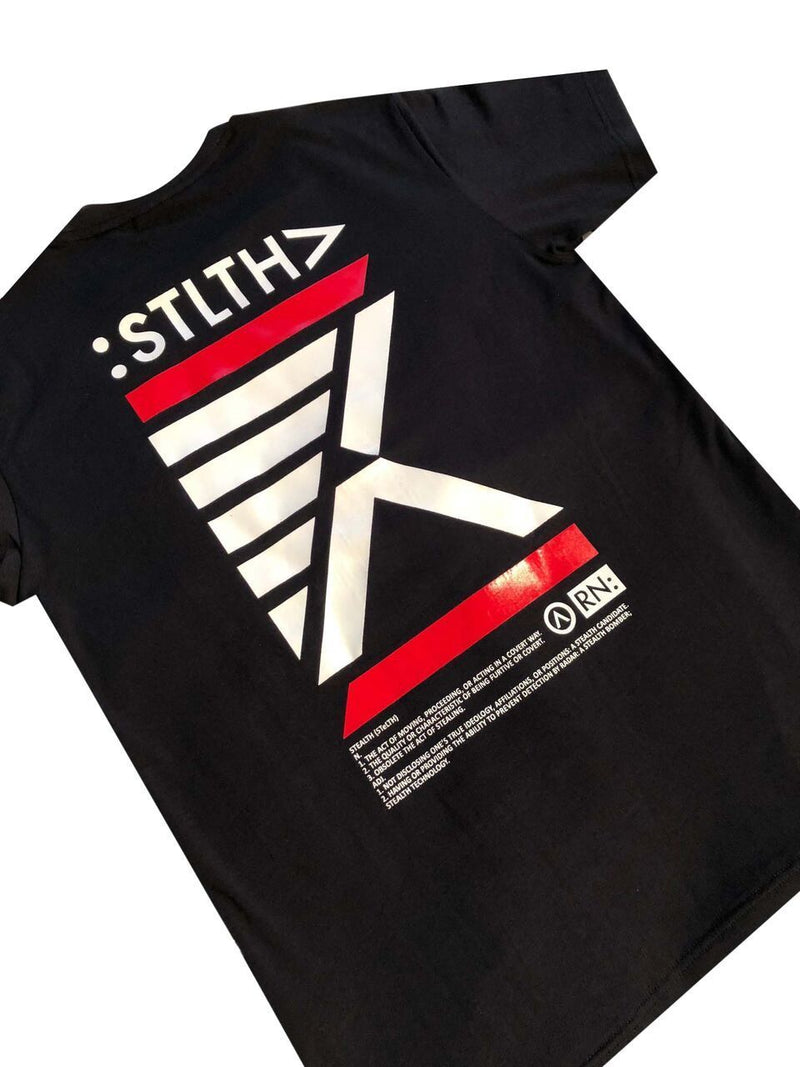 Stealth London Clothing Co Xtra Small Stlth Tee (Black)