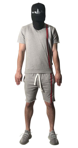 Stealth London Clothing Co Xtra Small Tonka Shorts set (Grey)