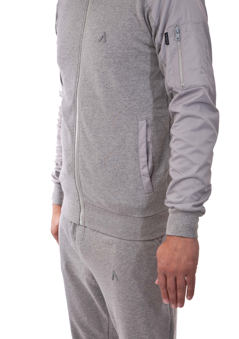 The Classic Zip Tracksuit (Stealth Grey)