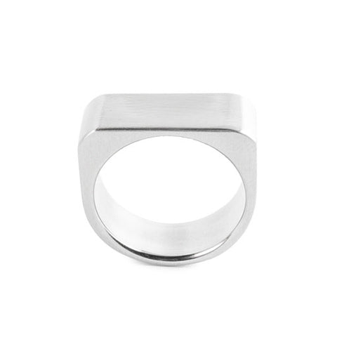 geometric men's ring