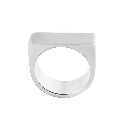 modern stainless steel ring