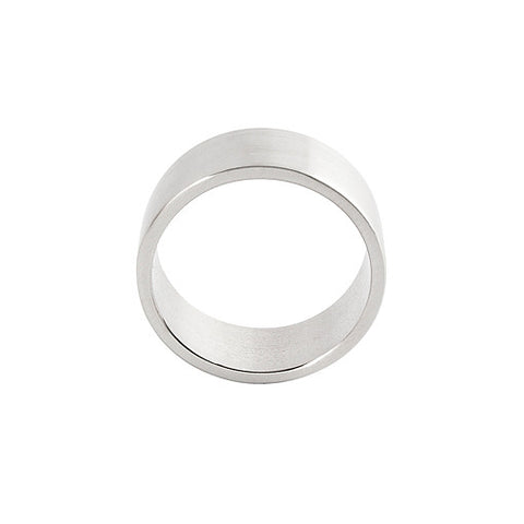 steel men's ring