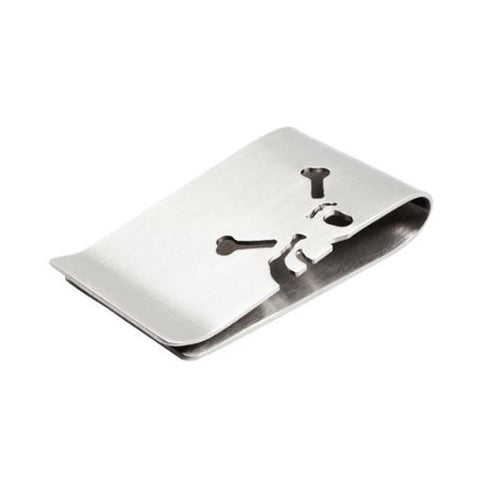 skull and crossbones money clip