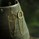 recycled earrings
