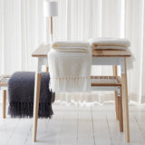 Natural Elegance Collection Mohair and Silk Throw