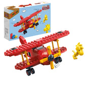 Peanuts - Flying Ace Red Plane Building Set by Ban Bao