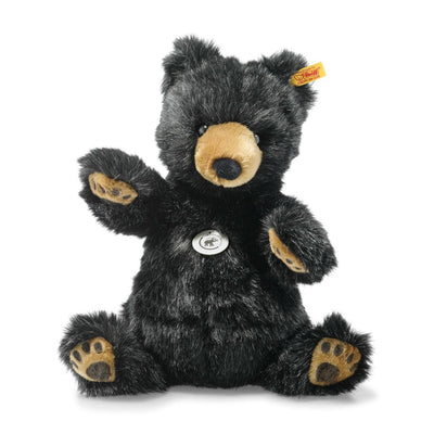 STEIFF  - Josey Grizzly Bear with BOOK 140th Anniversary 11