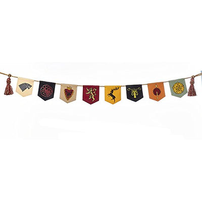 Kurt Adler Game of Thrones Sigil Banner Garland