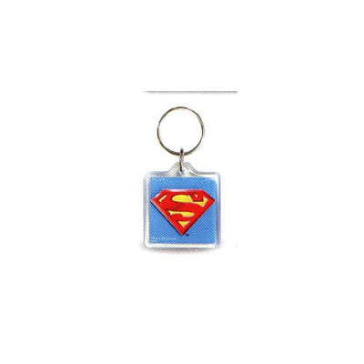 Superman Lucite Key Chain