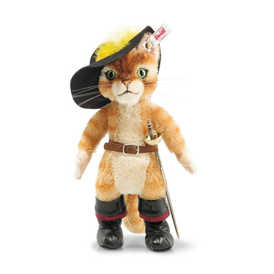 Shrek 2  - Puss In Boots Limited Edition Plush by STEIFF